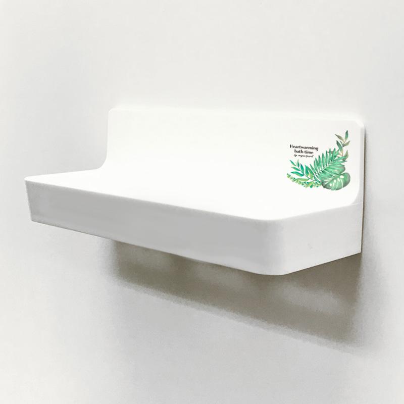 お風呂の収納に!マグネットバストレイ【ボタニカル柄】【宅配便限定】
