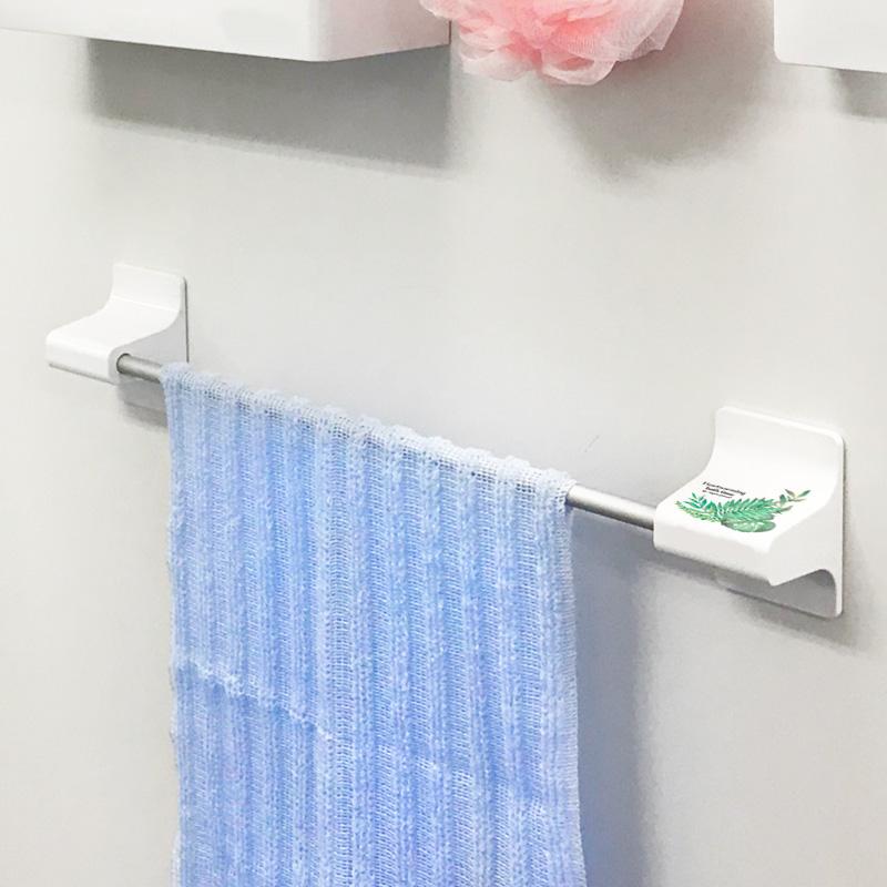 お風呂の収納に!マグネット浴用タオルハンガー【ボタニカル柄】【宅配便限定】