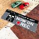 バッドばつ丸 ドラレコステッカー ドライブレコーダー搭載車【NOW ON REC】スリム型車マグネットステッカー【ゆうパケット対応商品】