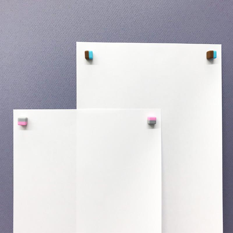 デザインマグネットピン マグネットキューブお得セット【組み合わせ自由!4パックセット】【ゆうパケット対応商品】