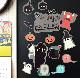 ハロウィンデコマグ【モンスター フレークタイプ SSセット】玄関ドア・冷蔵庫用【ゆうパケット対応商品】
