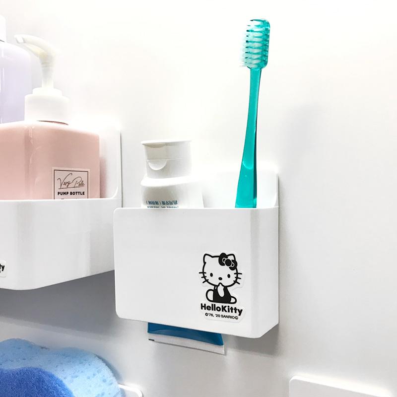 お風呂の収納に!ハローキティ マグネット歯ブラシ&シェーバーホルダー【宅急便限定】
