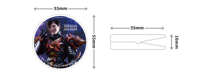 マグネットクリップ【ジャグラス ジャグラー】【ゆうパケット対応商品】