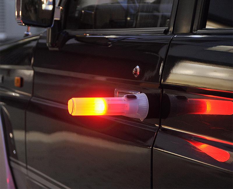 【乾電池式】マグネット付き 多目的ライト【宅配便限定】