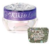 Kiki&Lala×LocoGELジェルネイル トゥインクルシルバー(TW-5)
