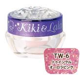 Kiki&Lala×LocoGELジェルネイル トゥインクルオーロラピンク(TW-6)