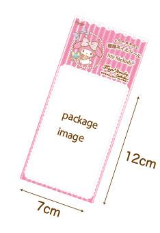マイメロディ極薄ネイルシール MM-010ポイズンハート LugelugejewelryCollection