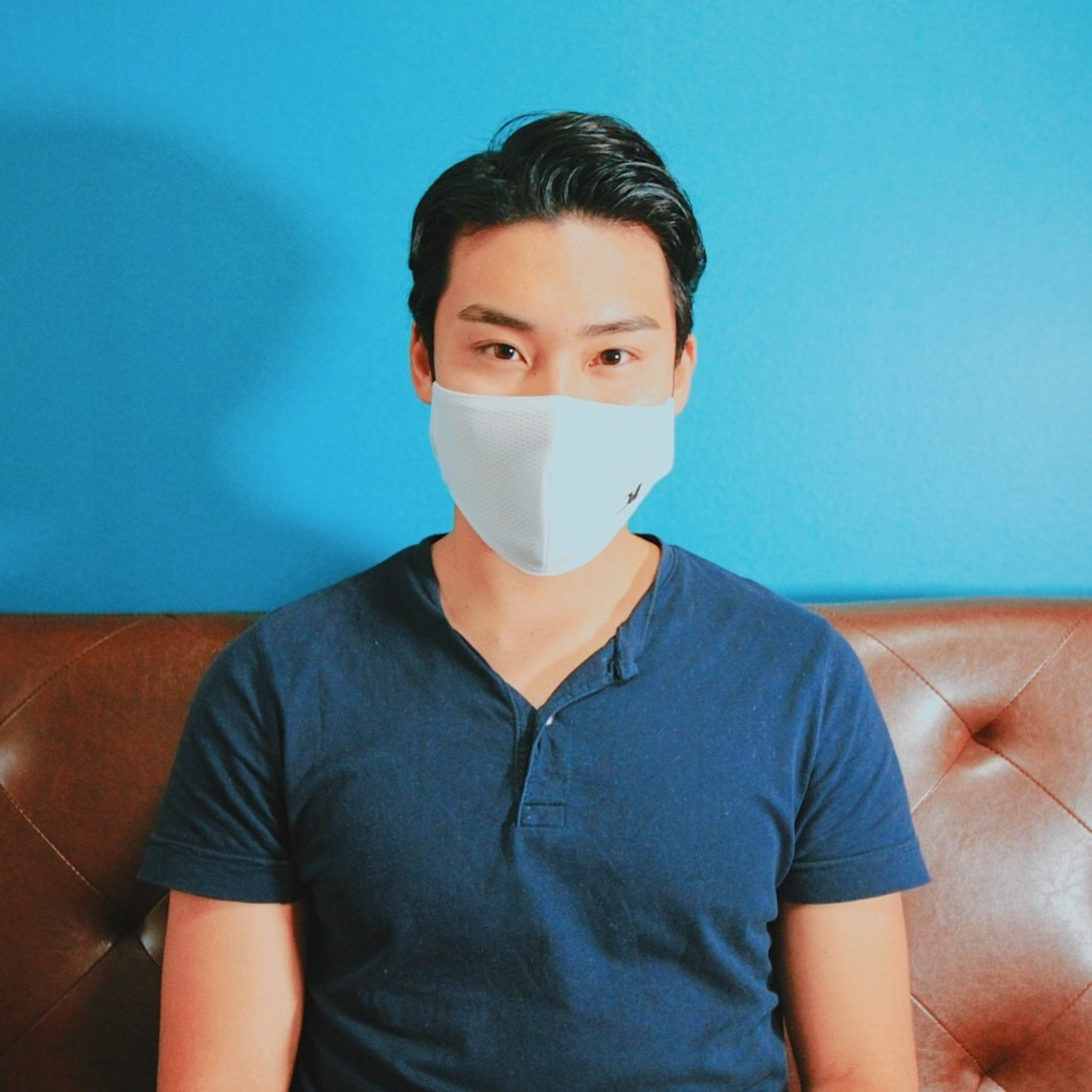 ユニフォーム素材マスク 3 色セット MMK-2024