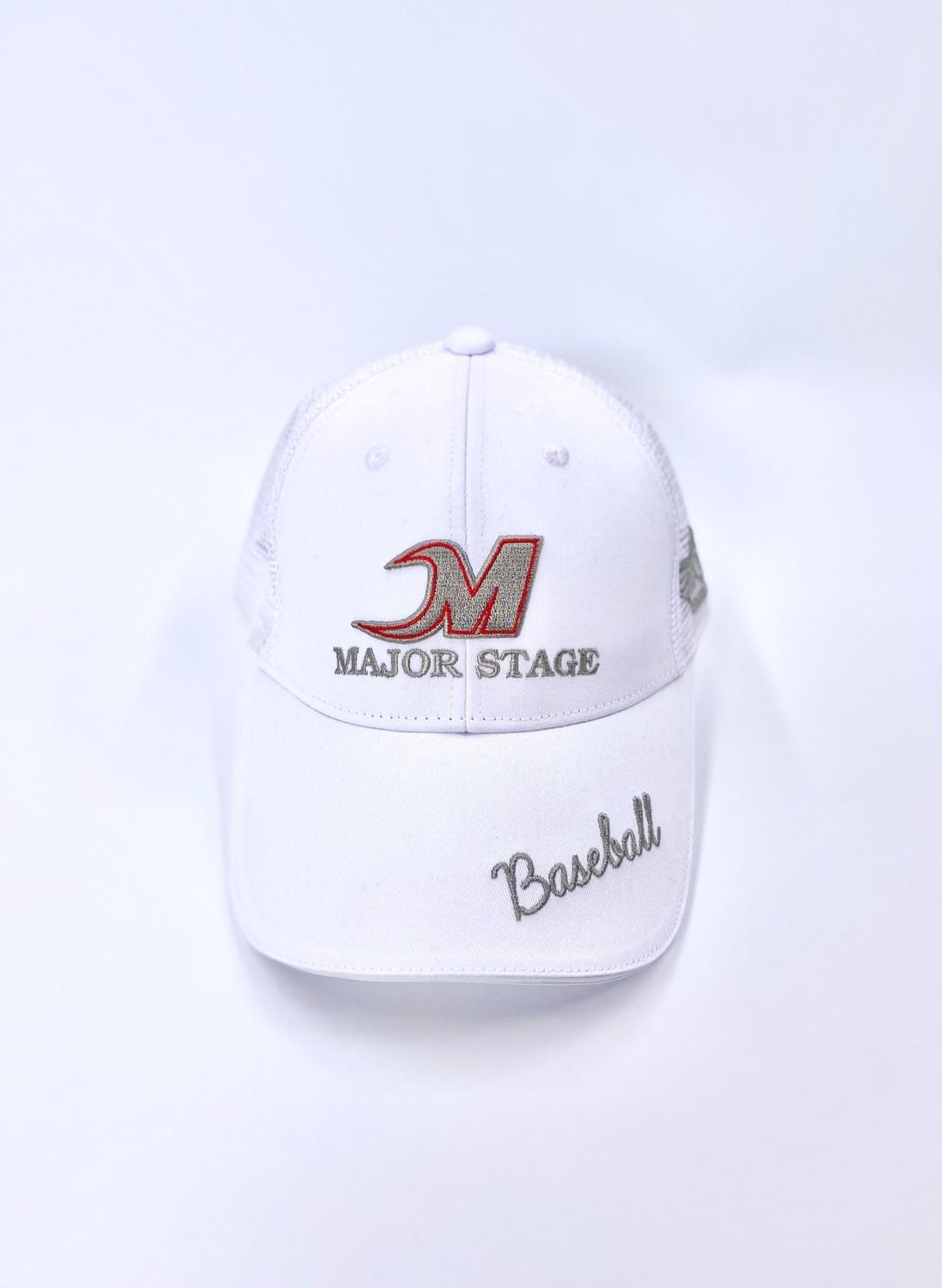 メジャーステージ ロゴ メッシュキャップ MCP-1806