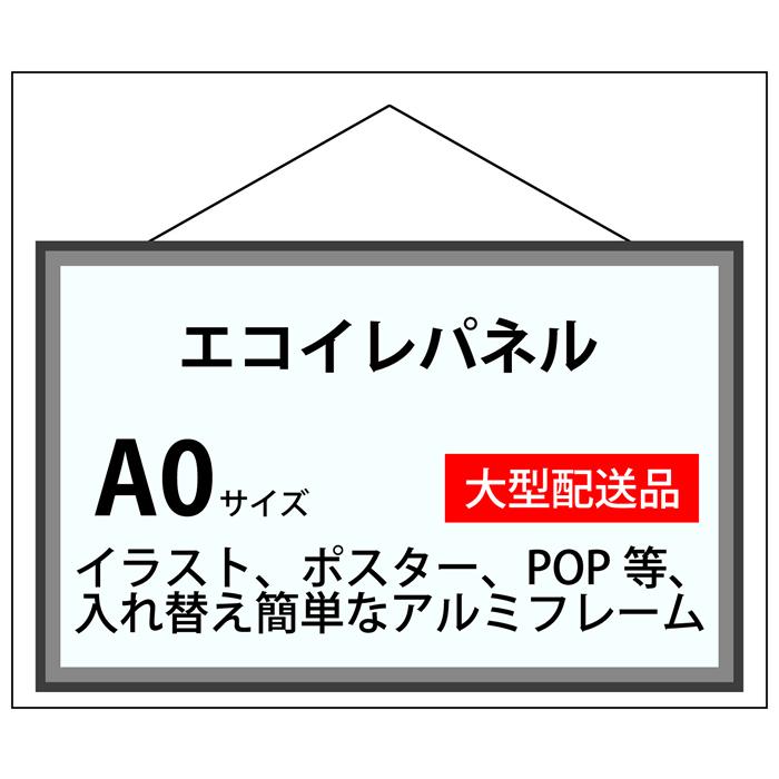 エコイレパネ フレーム加工 A0(841×1189)