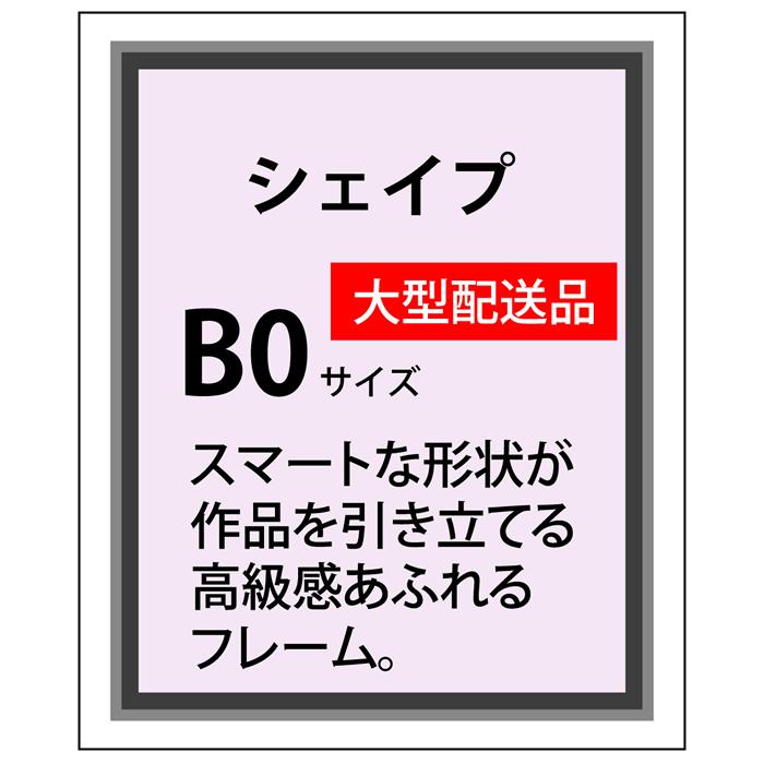 シェイプアルミ フレーム加工 B0(1030×1456)