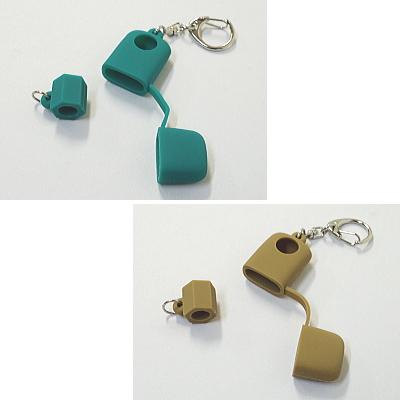 プルームテック用 シリコンリング&USB充電器ケースセット