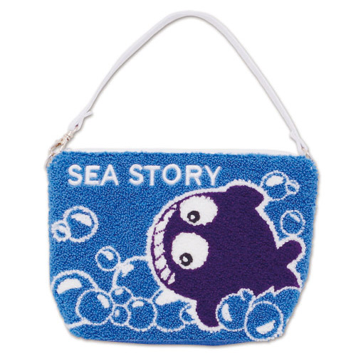 海物語 クジラッキー サガラ刺繍 マルチケース