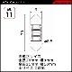 ヴァレンティ ジュエル LED バルブ MX  [ML11-T1030-A]【VALENTI JEWEL LED BULB MX】