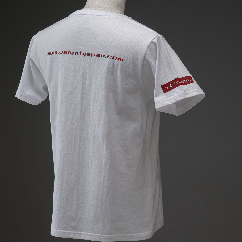 Valenti ヴァレンティ オンラインショップ限定 オリジナル半袖Tシャツ デザイン2 ストリートファッション [ATS-TS2]