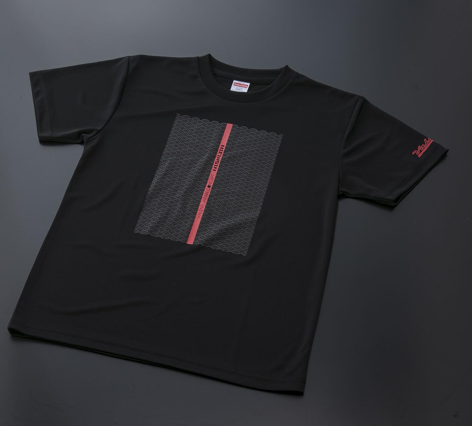 Valenti ヴァレンティ オンラインショップ限定 オリジナル半袖ドライTシャツ Valenti×NISHIJINデザイン2 ストリートファッション [ATS-TSKSK2]