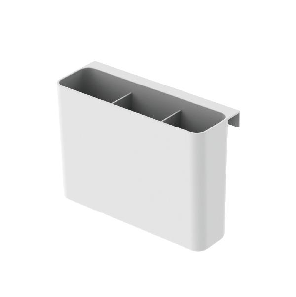 9102カトラリー ポケット (15×5.5×11cm)ホワイト