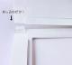 飛沫防止パーテーション 窓ありタイプ L(幅900mm) 送料無料