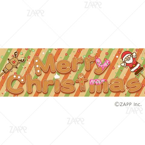 """POPパネル """"お菓子なクリスマス″"""