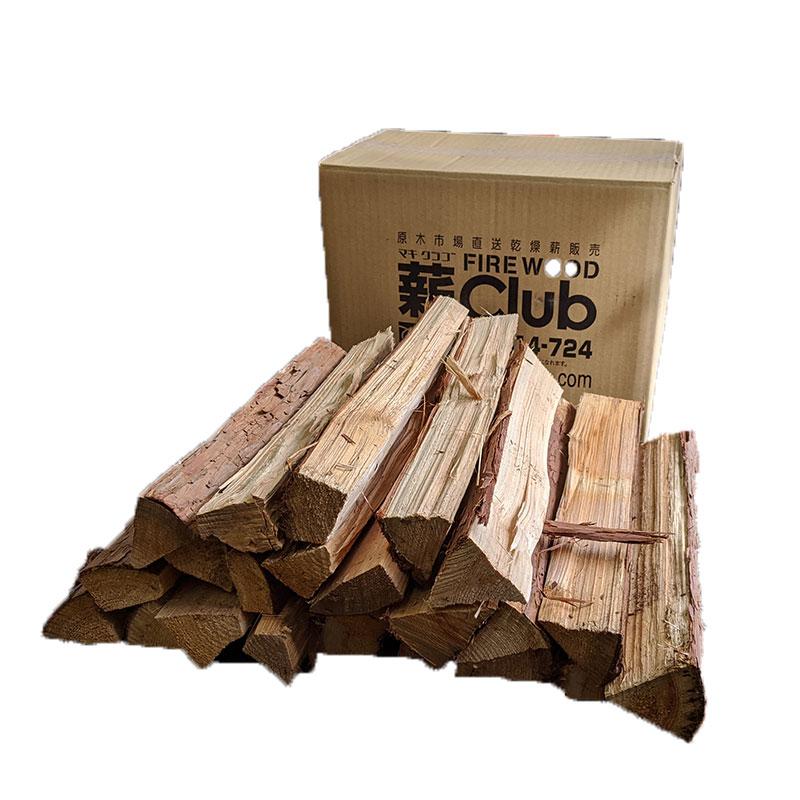 ヒノキ乾燥薪36cm細割 Sボックス