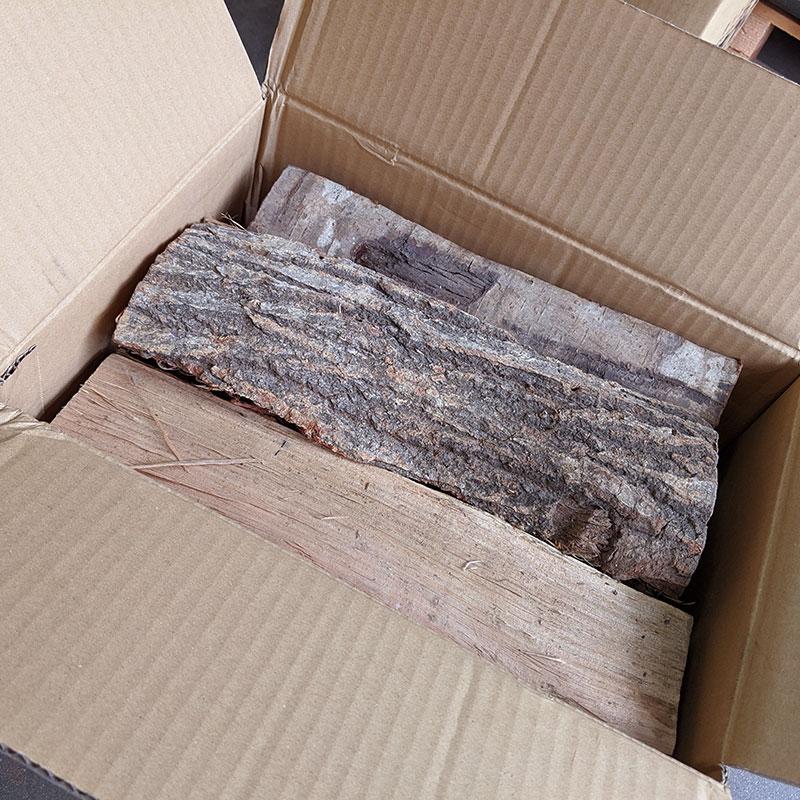 広葉樹ミックス乾燥薪大中割 Sボックス