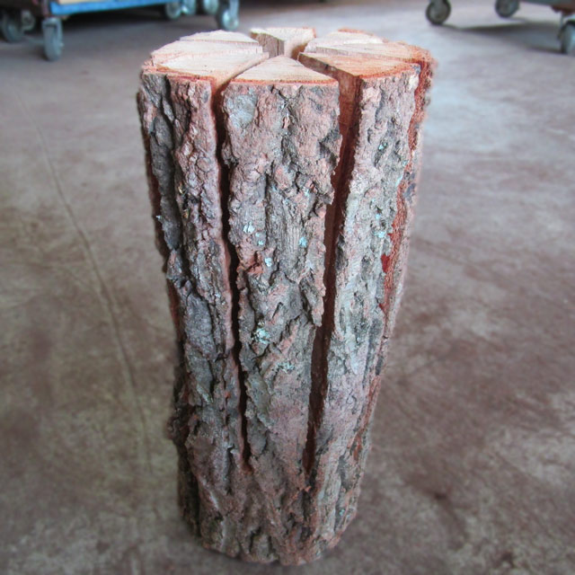 スウェディッシュトーチ(ナラ) 2本入|木のろうそく