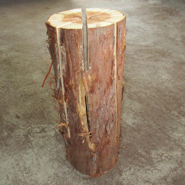 スウェディッシュトーチ(スギ) 2本入|木のろうそく