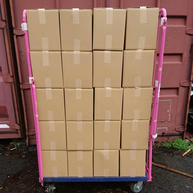 ナラ乾燥薪26cm大中割 12kg×40箱(480kg)