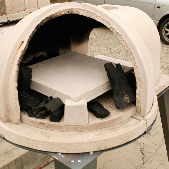 石窯クロスドーム炭用中板セット