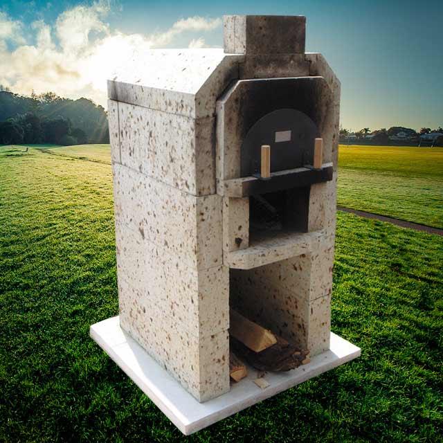 大谷石2段式石窯キット JOKOFORNO(ジョコフォルノ)|日祝配達不可|時間帯指定不可|代引不可