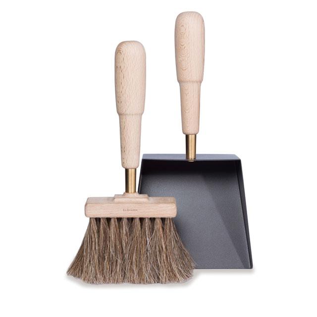 シャベル&ブラシ エマ(ブナ) Shovel&Brush Emma