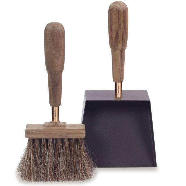 シャベル&ブラシ エマ(ウォールナット) Shovel&Brush Emma