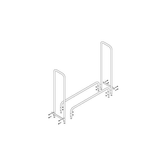 ファイヤーサイド ログラック(小) Log Rack