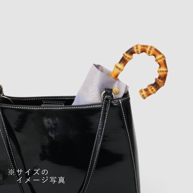 【晴雨兼用 折りたたみ傘】kirie  ペズリー(ピオニーピンク)