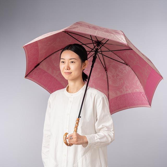 【晴雨兼用】kirie ペズリー(ピオニーピンク)