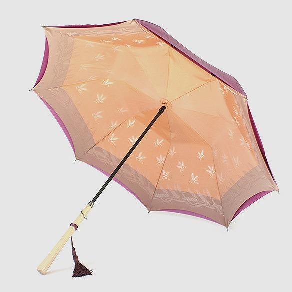 *受注生産*【晴雨兼用】1866 -kawazu- むぎ×パープル