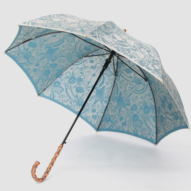 【晴雨兼用】kirie 更紗(レイクブルー)