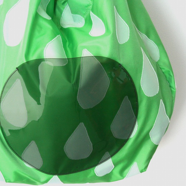 fusion tote bag SIZUKU グリーン×白