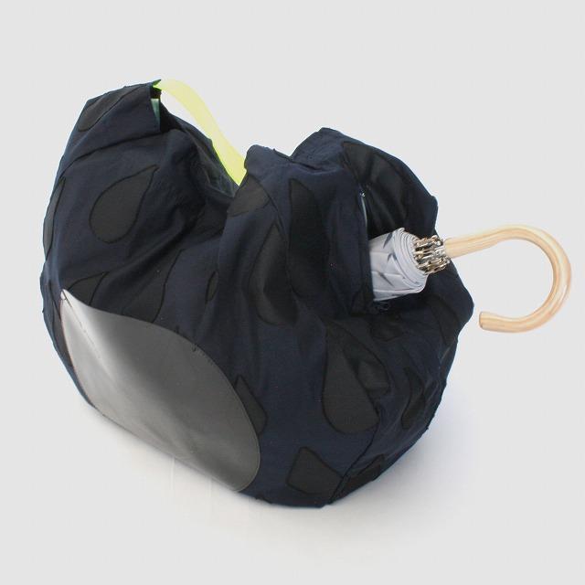 fusion tote bag SIZUKU ネイビー×黒
