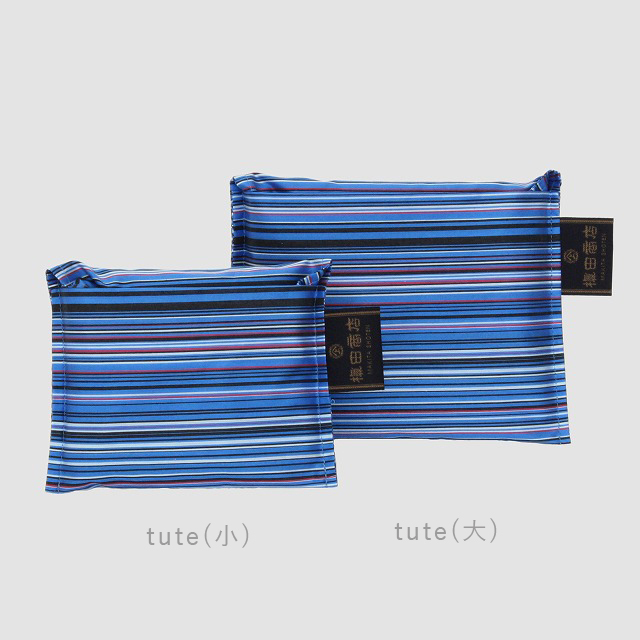 *NEW*【防水・撥水エコバッグ】tute(テューテ) ブルー:大