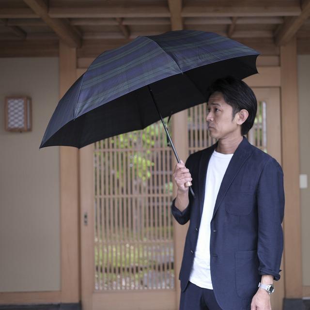 【雨傘 折りたたみ傘】Makita Trad (Black Watch)