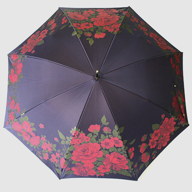【晴雨兼用】絵おり 大バラ コン