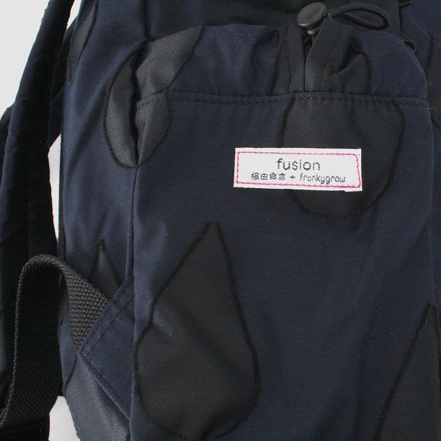 fusion back pack SHIZUKU ネイビー×黒