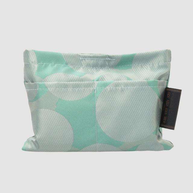 【防水・撥水エコバッグ】Umbrella cloth bag バブル グリーン