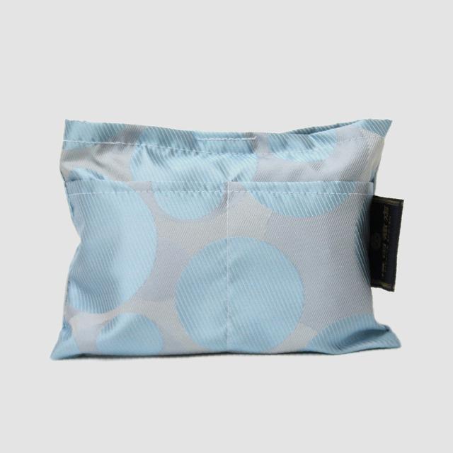 【防水・撥水エコバッグ】Umbrella cloth bag バブル ブルー