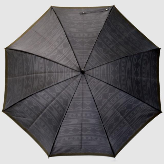 【紳士晴雨兼用】ネイティブほぐし 草原:グレー
