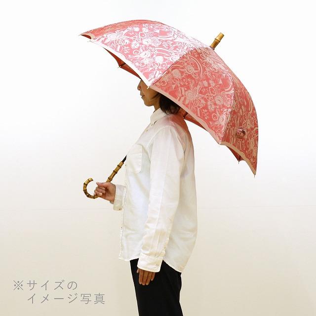 【晴雨兼用】kirie バラ(フレンチレッド)