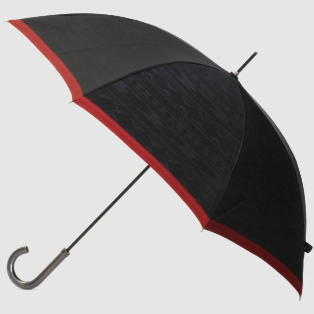 【紳士晴雨兼用】ネイティブほぐし 草原:ブラック