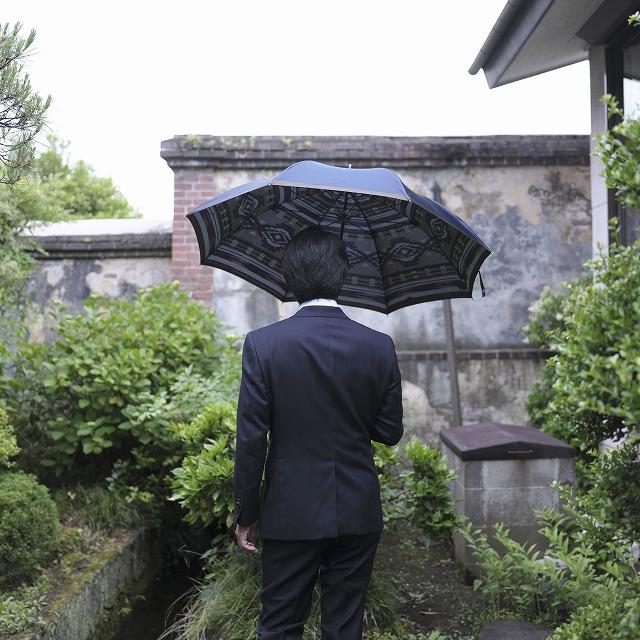 【紳士晴雨兼用】ネイティブほぐし 太陽:ネイビー