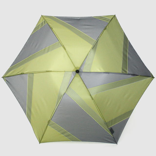 【晴雨兼用軽量】repel. Portable umbrella -Yellow Gray-